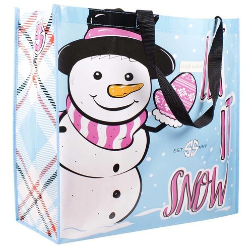 Simply Southern Economy Tote Let It Snow