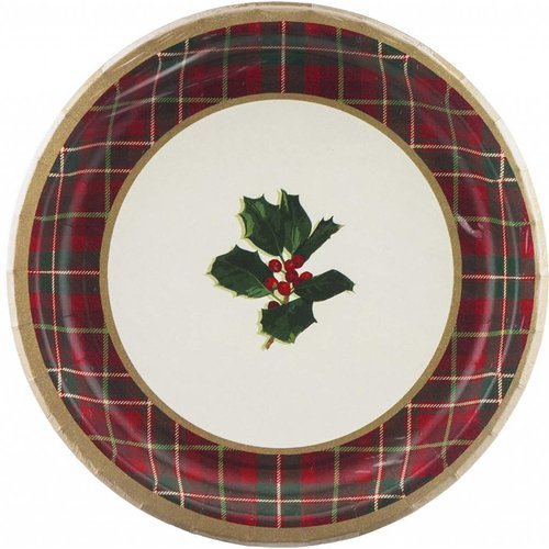 """Warm Traditions 9"""" Dinner plates 8ct"""