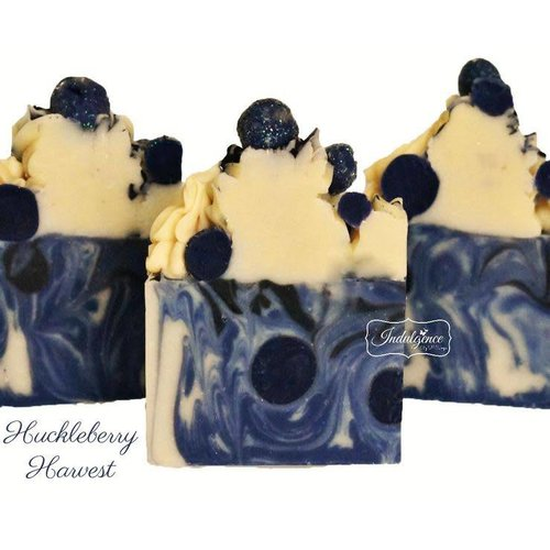 Indulgence by SV.Soaps Huckleberry Harvest Soap