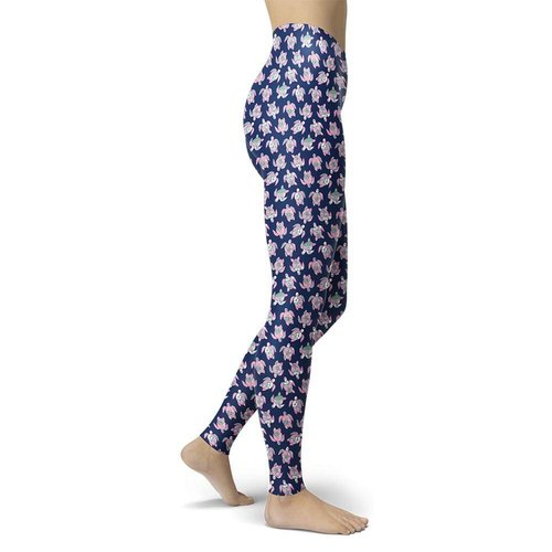 Turtle Navy Legging