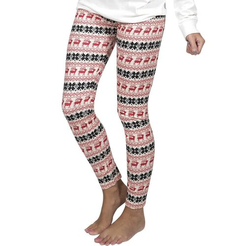 Reindeer Cream Legging