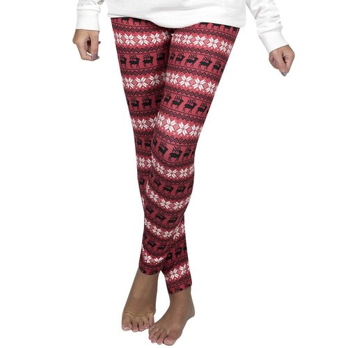 Reindeer Red Legging