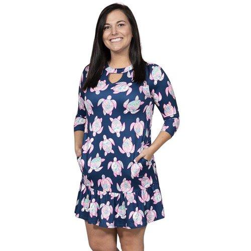 Ivy Turtle Key Hole Dress