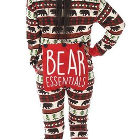 Lazy One Bear Essentials Adult Flapjack
