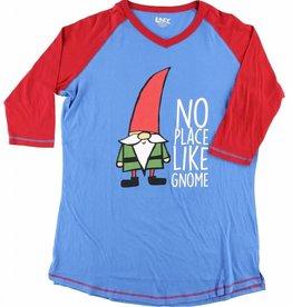 Lazy One Gnome Tall PJ Tee