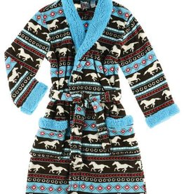 Lazy One Horse Fair Isle Bath Robe