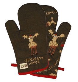 Lazy One Chocolate Moose Oven Mitt