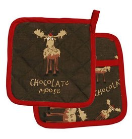 Lazy One Chocolate Moose Pot Holder