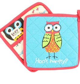 Lazy One Hoo's Hungry Pot Holder