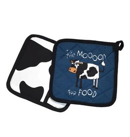 Lazy One In The Mood For Food Pot Holder