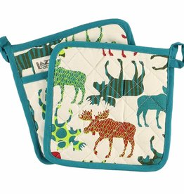Lazy One Pattern Moose Pot Holder