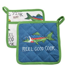Lazy One Reel Good Cook Pot Holder