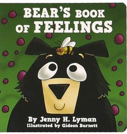 Lazy One Bear's Book Of Feelings Board Book