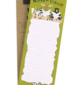 Lazy One Nature Calls Notepad