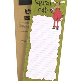 Lazy One Scratch Pad Moose Notepad