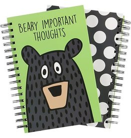Lazy One Beary Important Thoughts Notebook