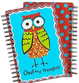 Lazy One Owl My Thoughts Notebook