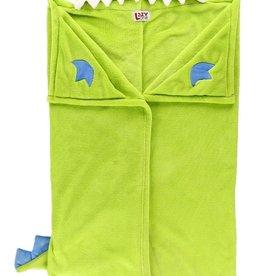 Lazy One Dinosaur Hooded Blanket