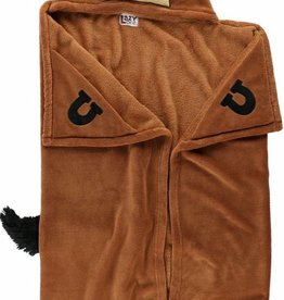 Lazy One Horse Hooded Blanket