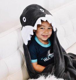 Lazy One Shark Hooded Blanket
