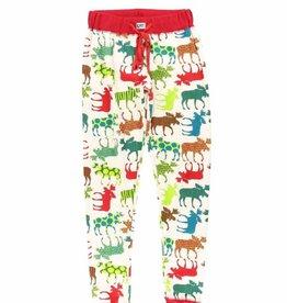Lazy One Pattern Moose PJ Legging