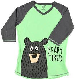 Lazy One Beary Tired Tall PJ Tee