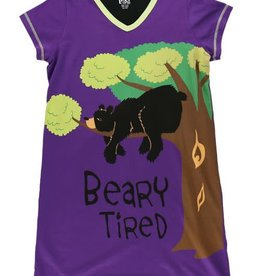 Lazy One Beary Tired Nightshirt