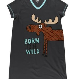 Lazy One Born To Be Wild Nightshirt