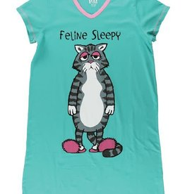 Lazy One Feline Sleepy Nightshirt