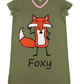 Lazy One Foxy Nightshirt
