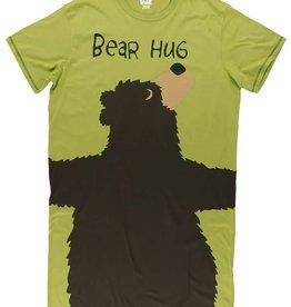 Lazy One Green Bear Hug One Size Nightshirt