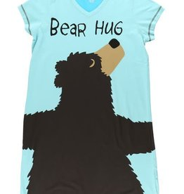 Lazy One Iceberg Bear Hug Nightshirt