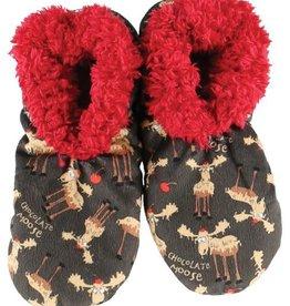 Lazy One Chocolate Fuzzy Feet