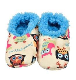 Lazy One Owl Yours Fuzzy Feet