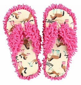 Lazy One Spa Slippers Need My Booty Sleep S/M