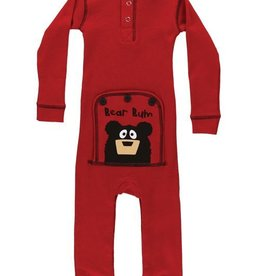 Lazy One Red Bear Bum Infant Flapjack