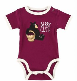 Lazy One Beary Cute (Huckle Berry) Creeper