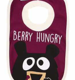 Lazy One Beary Hungry (Huckle Berry) Bib