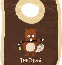 Lazy One Teething Boy (Brown/Tan) Bib