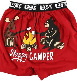 Lazy One Happy Camper Kid Boxer
