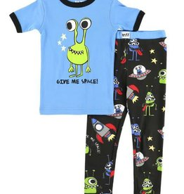 Lazy One Give Me Space S/S PJ Set