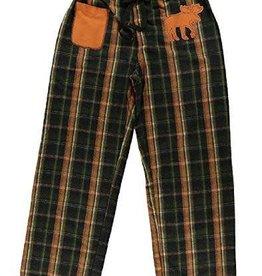 Lazy One Flannel Moose (Brown/Orange) Unisex Flannel PJ Pant