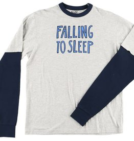 Lazy One Falling To Sleep L/S Unisex PJ Tee