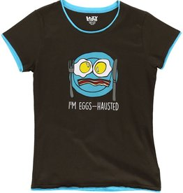 Lazy One Eggs-hausted Fitted PJ Tee