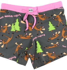 Lazy One Text Moose-aging PJ Boxer