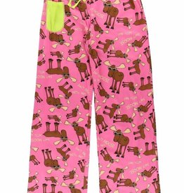 Lazy One Don't Moose With Me Yoga PJ Pant