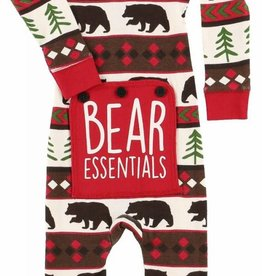 Lazy One Bear Essentials Infant Flapjack