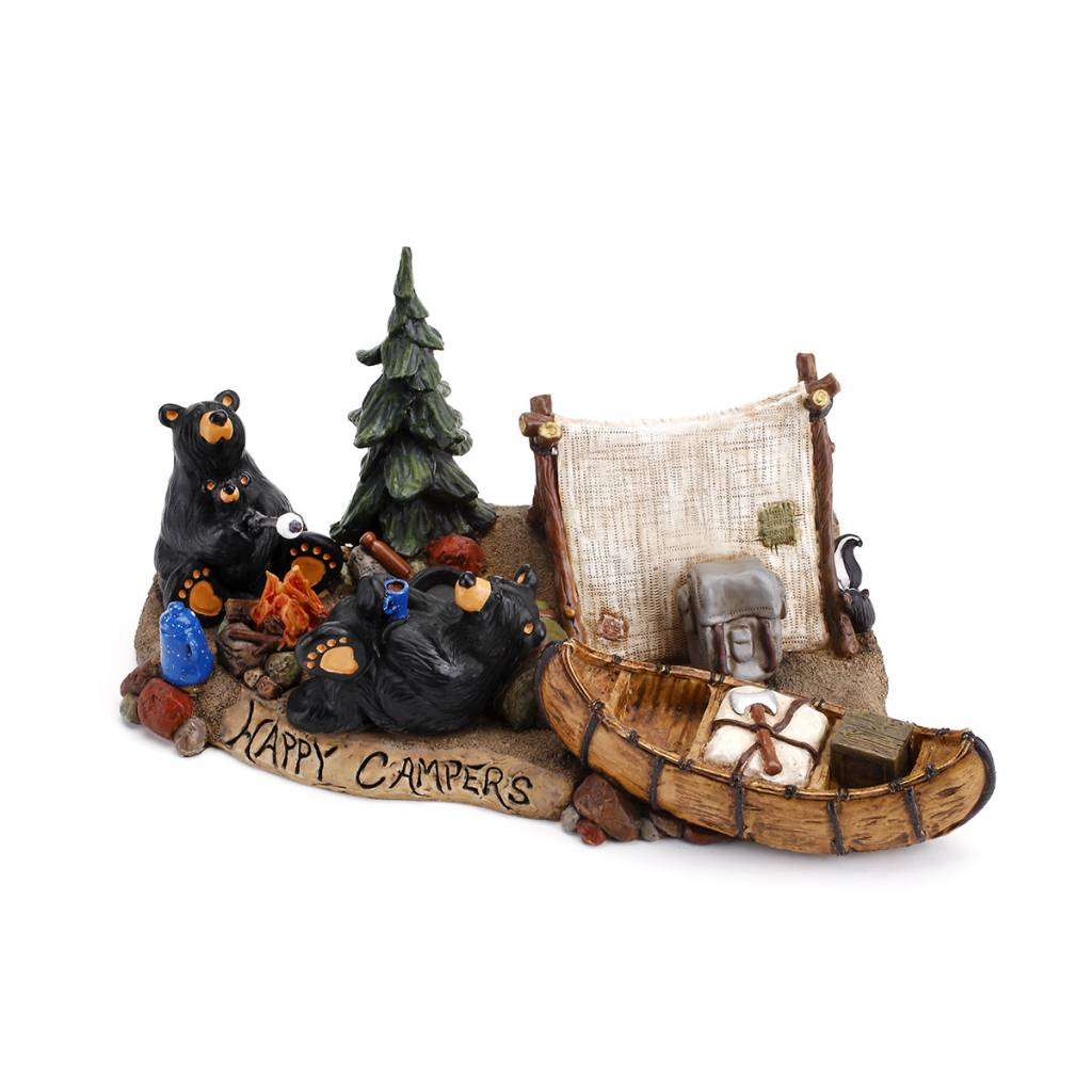 Happy Campers Bears Figurine