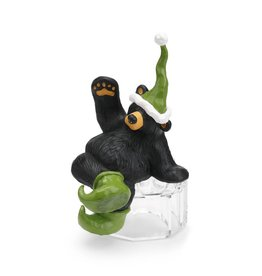 """Elfy"" The Shelf Sitting Elf Bear Figurine"
