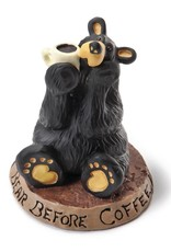 Bear Before Coffee Bear Figurine